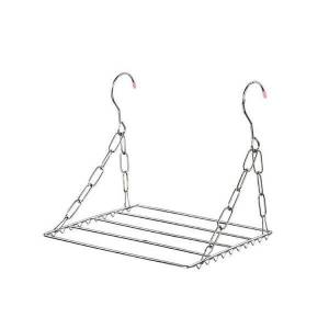 DHgate balcony folding shoe drying rack clothes airer stainless steel laundry underwear hangers & racks