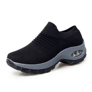 DHgate big size 42 tenis feminino 2020 air cushion women tennis shoes outdoor sport shoes female soft height increasing non-slip
