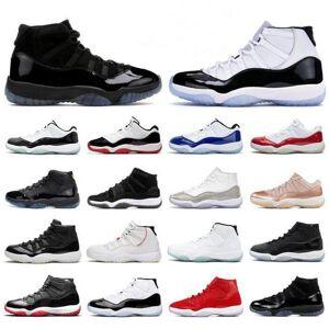 DHgate new 11 11s low legend blue white concord 45 bred men basketball shoes metallic gold pantone burgundy xi women sports sneakers 36-47