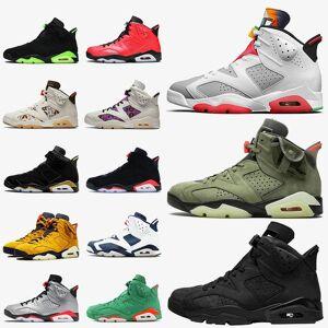 DHgate jumpman 6 6 6s mens basketball shoes retro hare 2020 travis triple black smoke grey quai 54 womens sneakers mens trainers