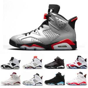 DHgate reflective bugs bunny 6 tinker basketball shoes classic 6s mens wheat unc infrared men strainer ports sneakers gatorade alternate black cat