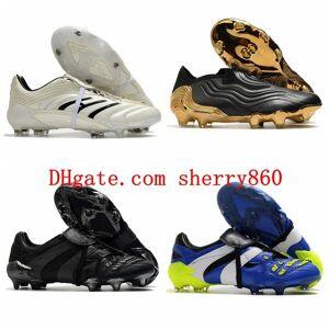 DHgate 2021 quality mens soccer shoes predator accelerator absolute 20 copa sense+ fg cleats football boots chuteiras scarpe calcio