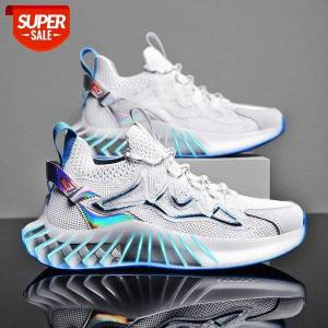 DHgate summer large size men's shoes breathable mesh gilt liquid elements national tide leisure sports daddy #mx34