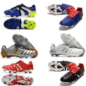DHgate men predator absolute 20 accelerator eternal class 20+ soccer shoes mutator mania tormentor electricity precision 20+x fg beckham zidane cle