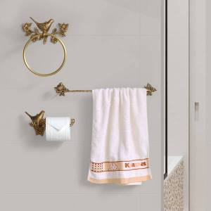 DHgate 2021 new bird ring sculpted holder creative toilet paper bar 18 polegated bathroom accessories bronze old 3-bun bath towel assembly g2fq