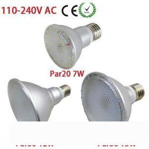 DHgate dhl ship ip65 waterproof par20 par30 par38 e27 led 110v-240v 7w 12w 15w dimmable led ceiling lamp spot lights bulb