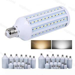 DHgate led bulbs e27 smd5730 corn lights ac85-265v 20w 30w 40w 60w 360 degree for indoor home pgraphy table wall lights decoration light dhl