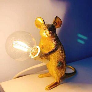DHgate e12 mouse table lamps modern resin led desk lamp nordic decoration animal rat led night lights for kids room christmas party