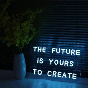 DHgate other lighting bulbs & tubes custom neon led decoration light birthday party wall christmas bar the future is your creation