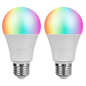 DHgate bulbs dimmable 7w e26 e27 wifi smart light bulb led rgb lamp app operate alexa google home smartphone assistant control night