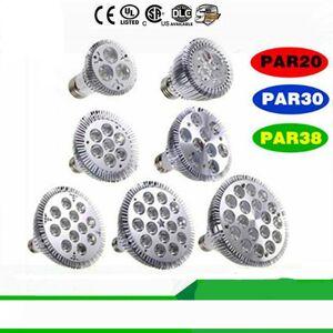 DHgate dimmable led bulb par38 par30 par20 9w 10w 14w 18w 24w 30w e27 par 20 30 38 led lighting spot lamp light downlight