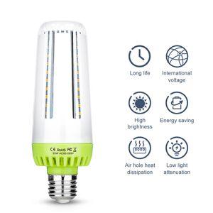 DHgate no flicker energy saving 10w 15w 20w ampoule e14 110v led lamp 220v bombilla smart ic home light bulb e27 corn bulb led002