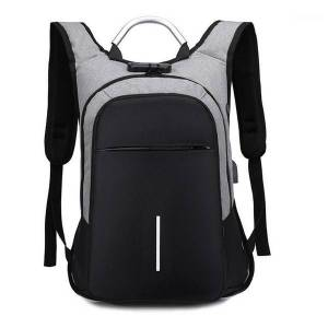 "DHgate men's backpack anti theft waterproof 15.6"" lapbackpack bag male female teenage student bagpack travel bag1"