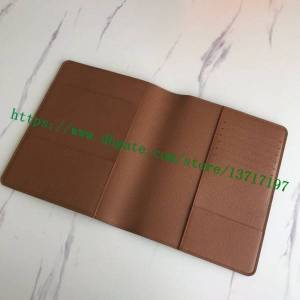 DHgate grade notebook holder wallet brown letters flower mono canvas coated real calf leather desk agenda cover r20100 planner keeper