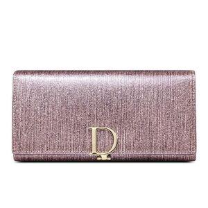 DHgate new fashion women's wallet bifold long wallet genuine leather large capacity lady's purse women hand bag wallets96b1#