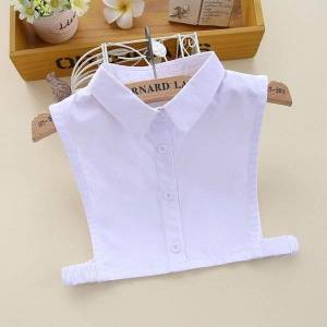 DHgate bow ties children fake collars for baby kids false shirt blouse lapel half child detachable collar girls student faux col
