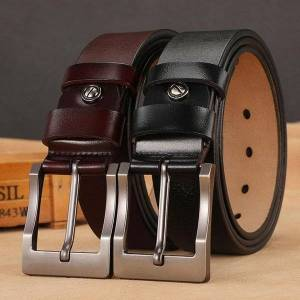 DHgate belts men belt male genuine leather strap design pin buckle fancy plus size 140 150 160cm vintage jeans