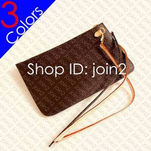 DHgate designer shopping bag removable zipped pouch zippered clutch women mini pochette accessoires cle phone bag charm toiletry pouch wallet 26 19