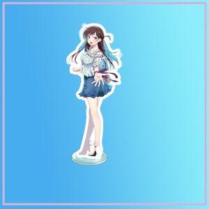 DHgate keychains anime stand kanojo okarishimasu ichinose chizuru acrylic figure display deskdecoration 15cm