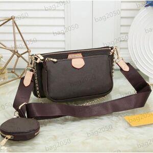 DHgate women handbags multi pochette accessoires designer bag purses luxurys handbag favorite mini 3pcs pochettes accessories crossbody shoulder ba