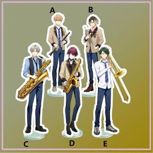 DHgate keychains anime stand wind boys kuri tobaya mikio kannoto izuru taira ryotaro itsuki akane yoneya acrylic figure display 15cm