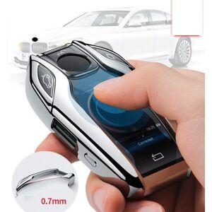 DHgate keychains tpu car fully key case led display cover for 5 7 series g11 g12 g30 g31 g32 i8 i12 i15 g01 x3 g02 x4 g05 x5 g07 x7