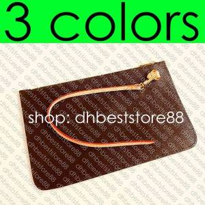 DHgate designer shopping bag's removable zipped pouch zippered clutch fashion womens mini pochette accessoires cle phone bag charm toiletry po