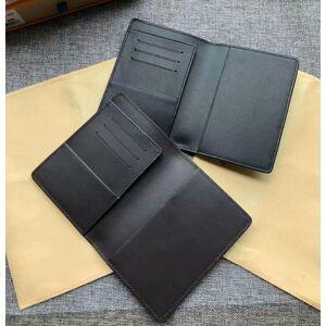 DHgate 2020 men genuine leather passport cover wallet women credit card holder men business card holder travel wallet porte carte carteira