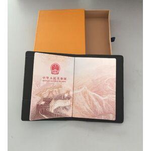 DHgate paris style luxury designer classic famous men women famous genuine leather gy credit card holder mini wallet passport cover