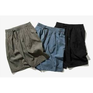 DHgate designer men's luxury casual shorts 2020 summer tide brand trend five points overalls men's wild loose sports pants 3 colors size