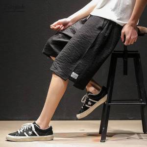 DHgate bolubao brand men casual shorts 2020 new men's straight knee length pants summer new trendy wild sports shorts male