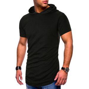 DHgate isurvivor 2020 summer hooded t-shirt men's fashion solid color casual short-sleeved t-shirt men's streetwear wild loose