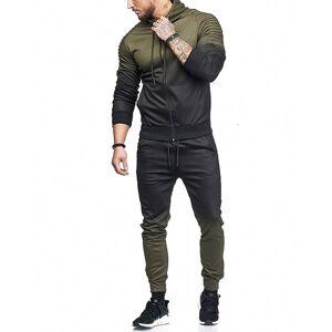 DHgate 2021 new autumn men tracksuit fashion 3d print pleated hoodies sweatshirt+sweatpants pieces plus size jogger sportsuit sets k9z4