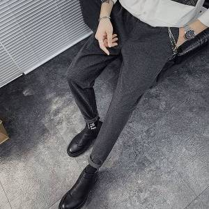 DHgate trousers 2021 male spring new plus fashion pants handsome m-3xl k6c9