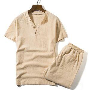 DHgate men's tracksuits t shirts + shorts summer brand tshirt men light breathable casual beach set s-5xl 2021 t-shirt suits male fashion 2pcs