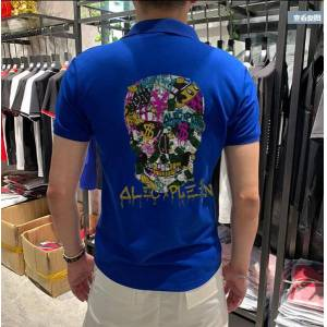 DHgate diamond will see shirts men cotton short breathable sleeve fit for male polo size m-4xl c3gc