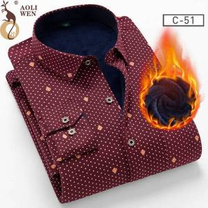 DHgate 2021 m fashion men's blouse man winter thick print lattice 26 colors plus veet thickening new warm shirt kkah 1p3c