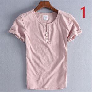 DHgate 2021 new men's v-neck short t-shirt summer slim cotton sweatshirt tide brand casual half sleeve clothes wild lv85