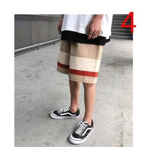 DHgate new 2021 summer thin section five korean version the trend of wild elastic men's tide brand pants uhuw