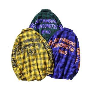 DHgate 2021 casual brand plaid men's shirts long sleeves new spring autumn plus asian size m-5xl c767 hhk3