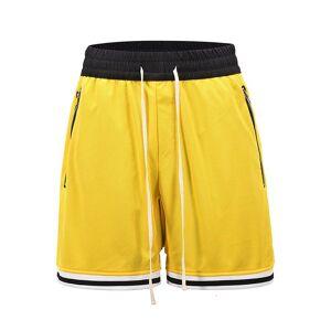 DHgate 2021 new jogger's random breathing casual shorts gentlemen cord pocket oversize kneeling height broek hip hop baggy summer card c4to
