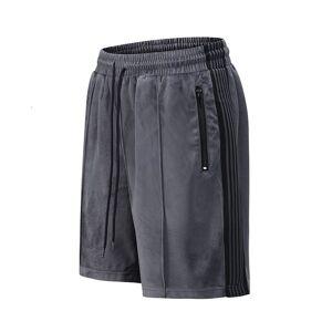 DHgate 2021 new high street side cretaceous fleece shorts gentlemen drawing board effects breathing oversize casual summer knee length short yo4z