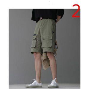 DHgate 2021 new summer thin section five korean version the trend of wild elastic men's tide brand pants odfg