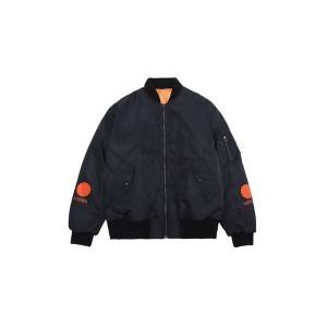 DHgate new autumn winter hip-hop streetwear nagri black white children printed women men padded jacket oversize ma1 pocket outerwear b5 i6ma