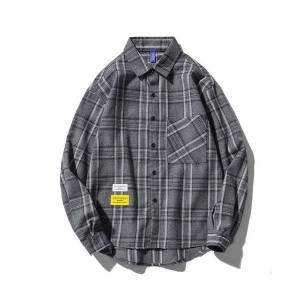 DHgate 2021 plaid men's shirts long sleeves new spring autumn plus asian size m-5xl c773 votg
