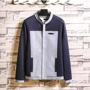 DHgate men's color matching 2021 spring autumn new fashion jacket men's casual handsome clothes