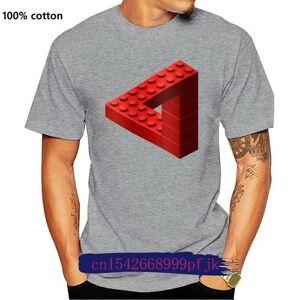 DHgate men's t-shirts escher t shirt toy bricks red t-shirt 6xl cute tee graphic men fashion short sleeve 100 cotton tshirt