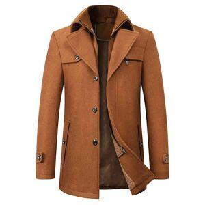 DHgate men's suits & blazers wool coat men overcoats oat mens single breasted coats jackets new arrival winter casual ma
