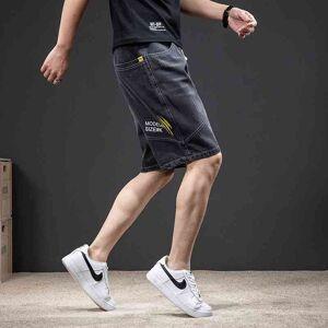 DHgate fashion brand jeans shorts 2021 summer fashion loose size medium men's casual pants