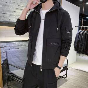 DHgate toney cp konng gonng 2020 new jacket men's coat spring and autumn company fit handsome leisure youth hoodie men's clothing factory